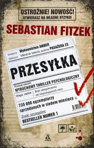 """Dzisiaj premiera: Sebastian Fitzek """"Przesyłka"""""""