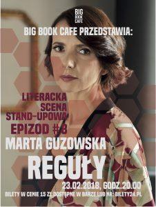 Literacki Standup z Martą Guzowską!
